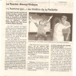 Atelier théâtre à la Paillette