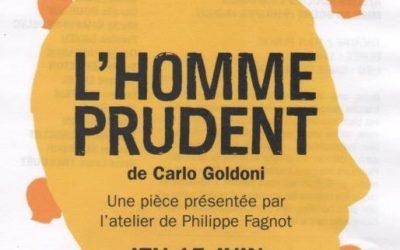 L'Homme Prudent  de CARLO GOLDONI – ATELIER THEATRE ADULTES Confirmés Théâtre la  PAILLETTE RENNES