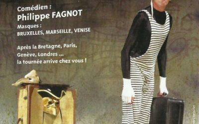 SOLO DELL' ARTE en Dîner/Spectacle le vendredi 19 Octobre au Restaurant DU PARC DES BOIS DES GAYEULLES à RENNES